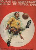 FIGURAS DEL CAMPEONATO MUNDIAL DE FUTBOL 1966 (FHER)