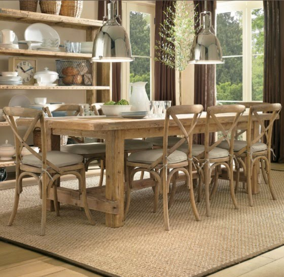 Farmhouse Dining Table Restoration Hardware