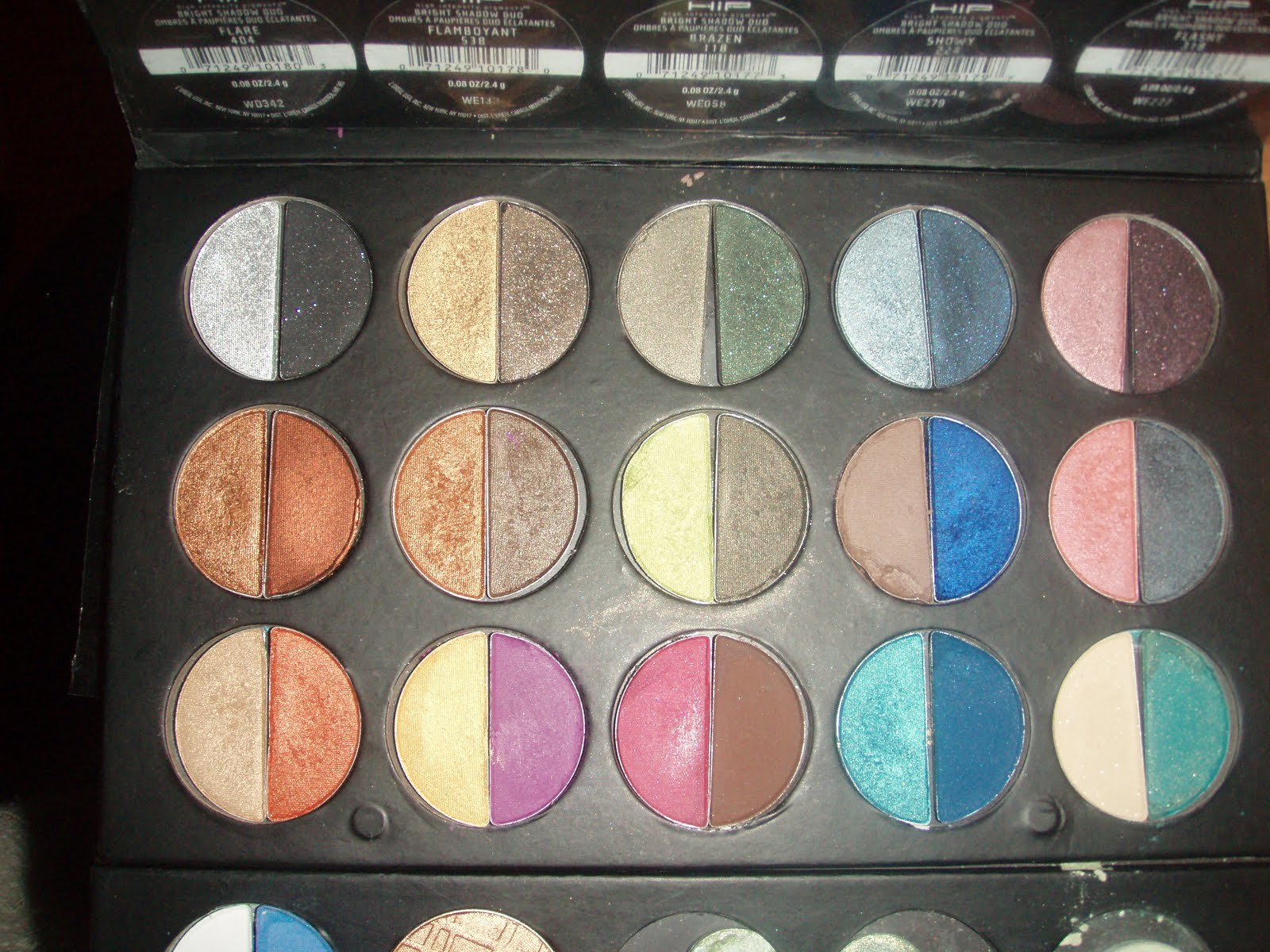 Makeup Crazie Loreal Hip Eyeshadow Duos Depotted