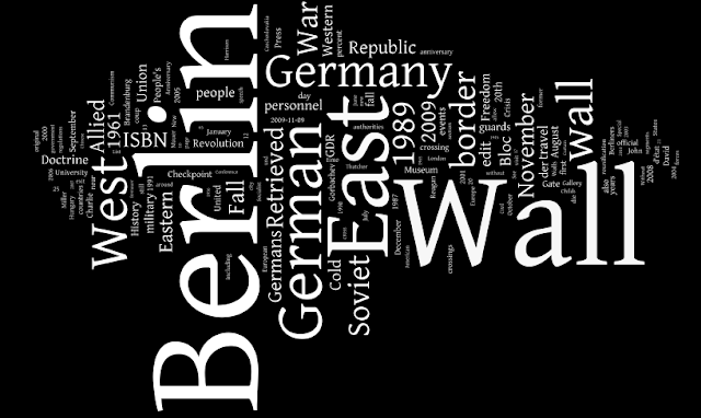 an analysis of the berlin wall Berlin wall documents on the history of the berlin wall, beginning with the conditions in berlin and east germany following wwii and the history of the wall's.