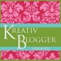 Kreativ Blogger [Award]
