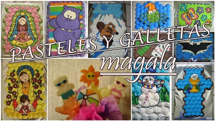 "Pasteles y Galletas Decoradas ""Magala"""