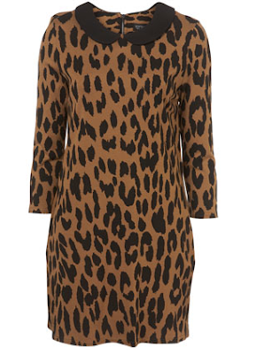 Animal Print Dress on Change Of A Dress  Topshop Animal Print Dress