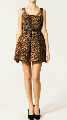 Leopard Dress on Change Of A Dress  Leopard Print Zara Dress