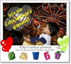 D Alya Boutique Giveaway