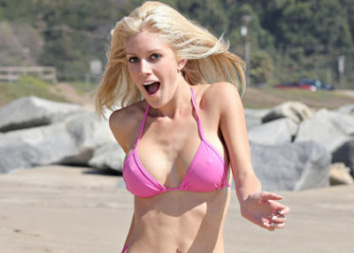 heidi montag pink bikini Here's Heidi Montag's Overdosin. The sound is off. The video is cheap.