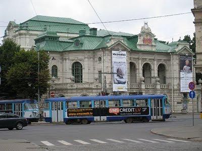Latvian tram