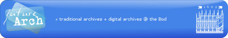 futureArch, or the future of archives...