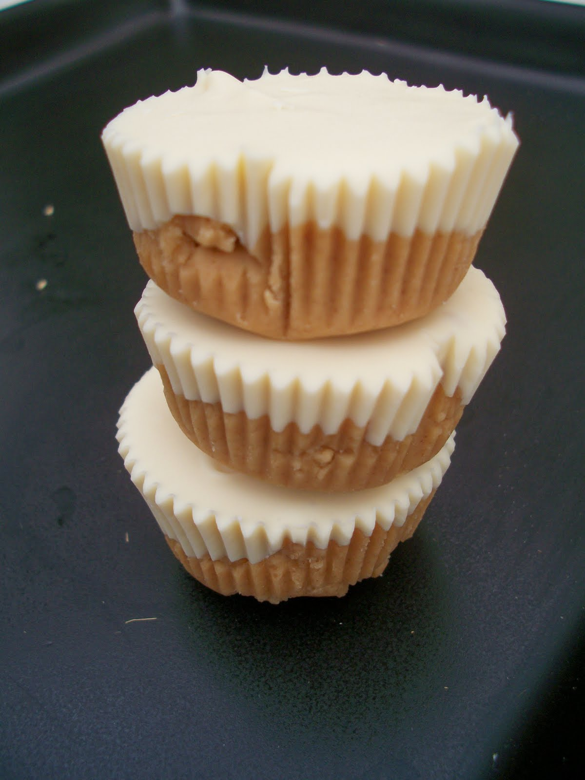 Brooke Bakes : White Chocolate Peanut Butter Cups