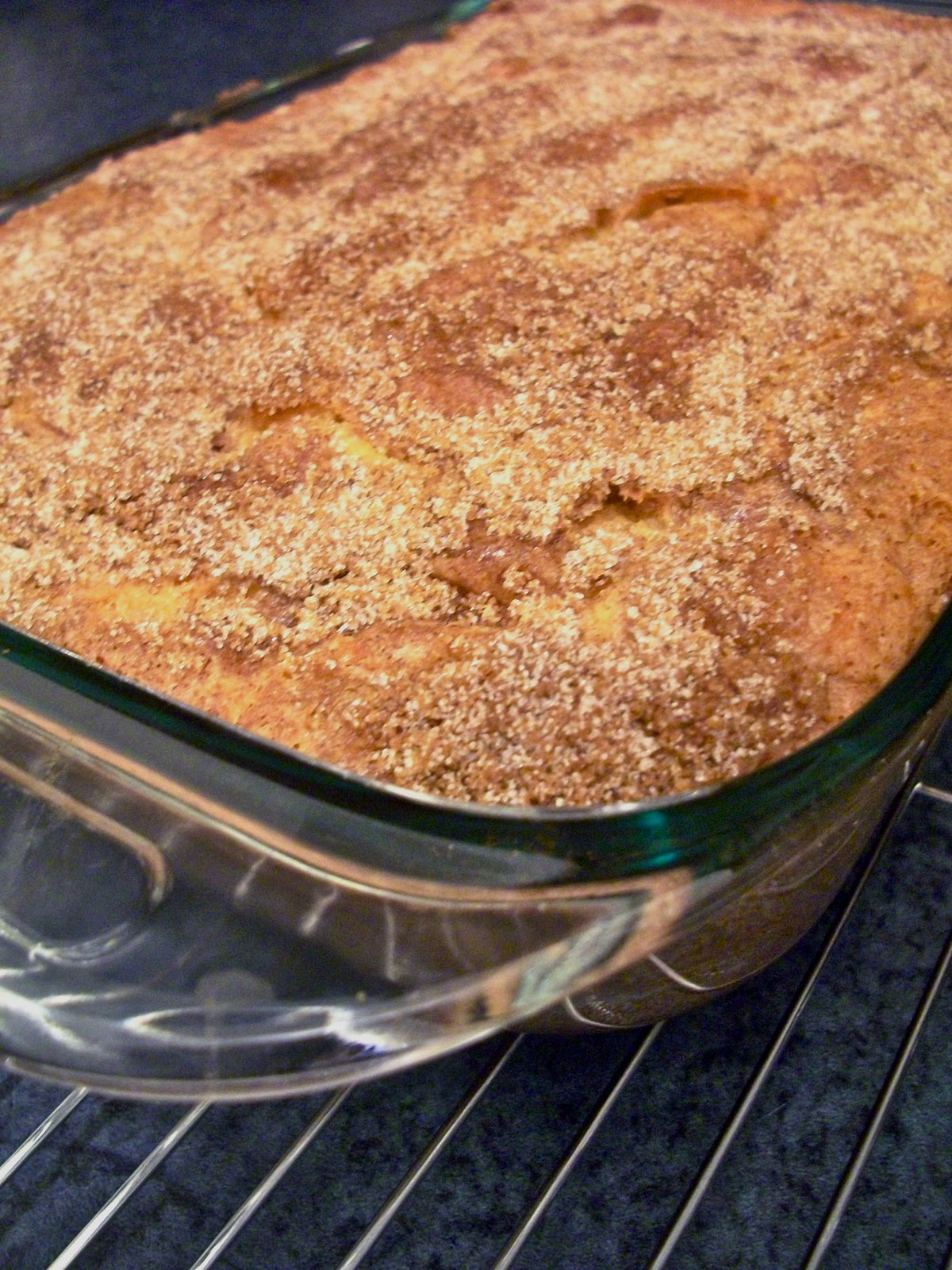 Brooke Bakes : Cinnamon-Sugar Coffee Cake