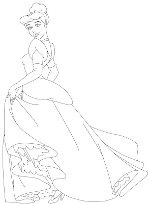 Cinderella Coloring Pages, coloring book pages, coloring pages, coloring pages for kids, coloring pages to print, free coloring pages, kids coloring pages, printable coloring pages