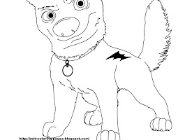 Bolt Rhino Coloring Pages