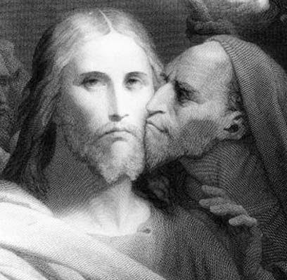 Resultado de imagem para beijo judas