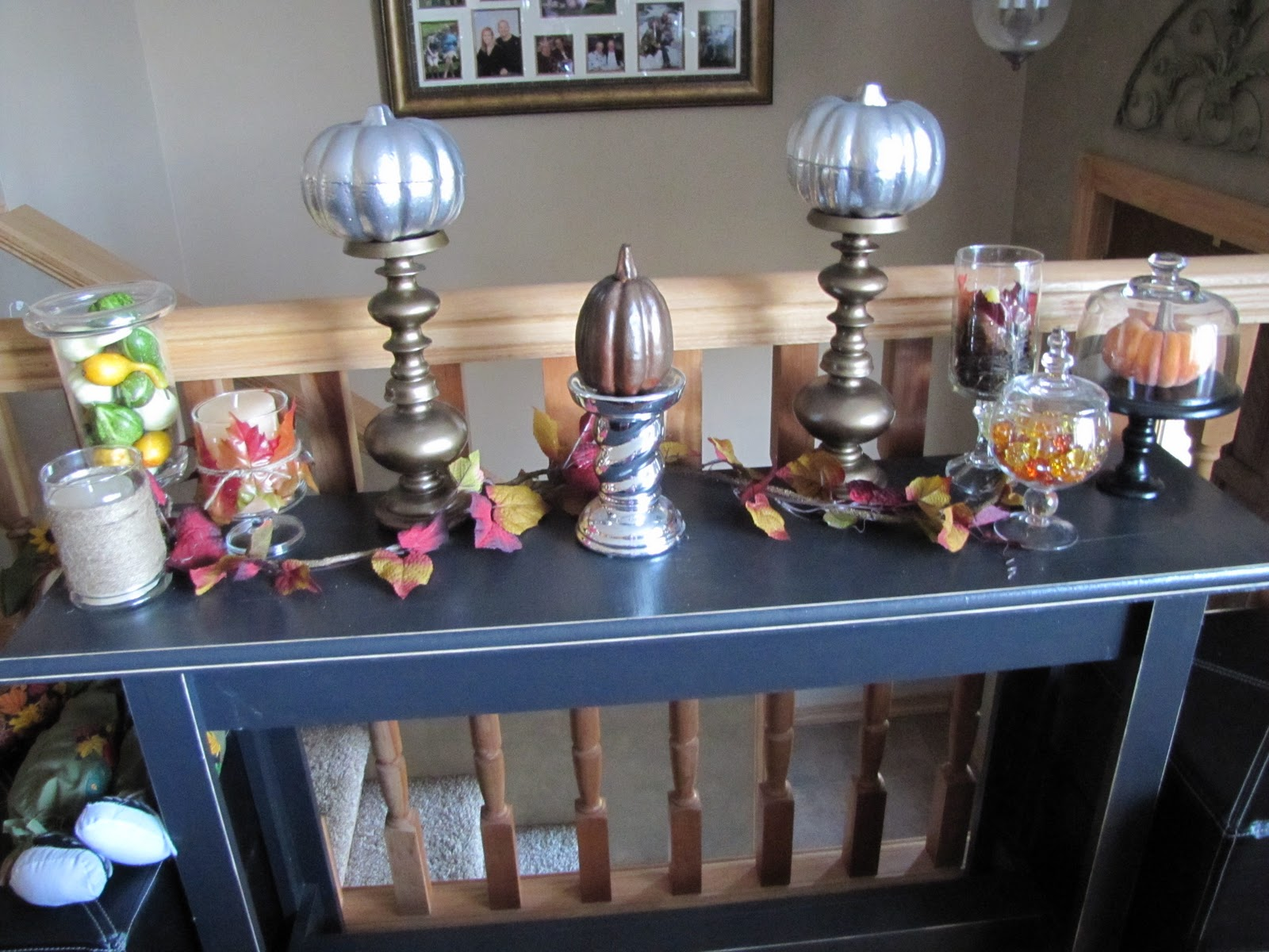 Sustainably chic designs thanksgiving fall decorating in