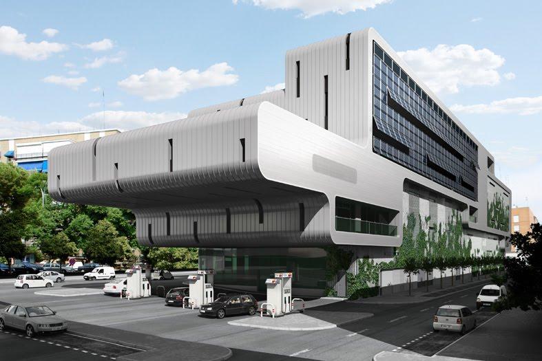 Cultura de sevilla edificio de oficinas en ram n y cajal for Oficinas bankia sevilla