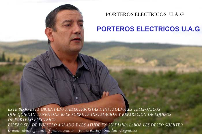 Porteros Electricos Ubaldo Angel Guardia