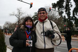 Eric y Mariví en maratonianos.com