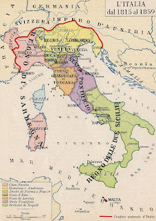 Italia entre 1815-1859