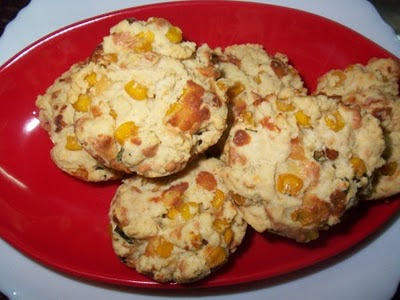 Sweet Corn Biscuits Recipe — Dishmaps