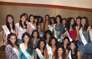 Miss India 2007 Contestants