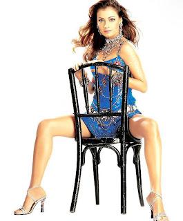 Diya Mirza long legs