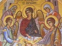Slavă Sfintei Celei de o fiinţă şi nedespărţite Treimi!