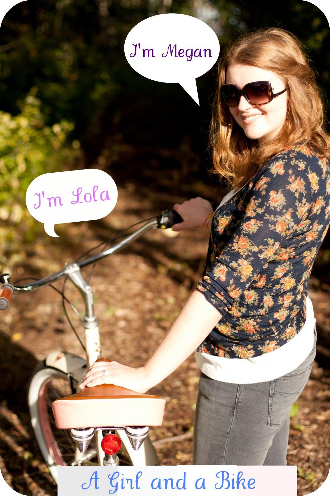 A Girl and a Bike