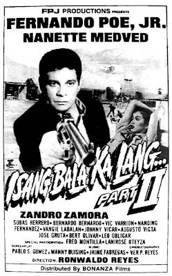 Isang bala ka lang, part II (1993)