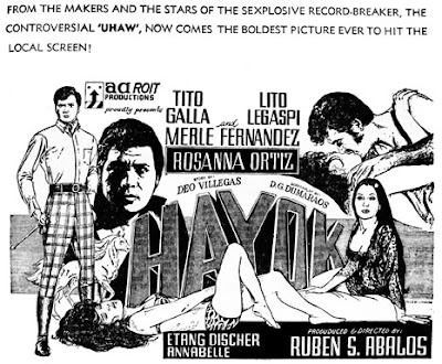 1970)- Stars Merle Fernandez, Tito Galla, Lito Legaspi, Rosanna Ortiz