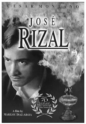jose rizal a 1998 film Philippines and jose rizal movie review linggo, agosto 05 2012 jose rizal jose rizal the movie this movie is a 1998 filipino biographical film of the philippine national hero josé rizal directed by marilou diaz-abaya and starring cesar montano as josé rizaldrjose rizal, our national hero was a noble person.