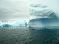 Daar zijn de ijsbergen