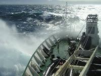 Woelige zee ...