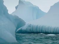 De eerste IJsbergen ...