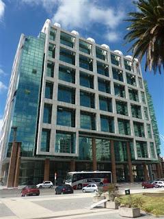Montevideo centrum.