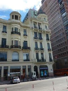 Mooie gevels in Montevideo.