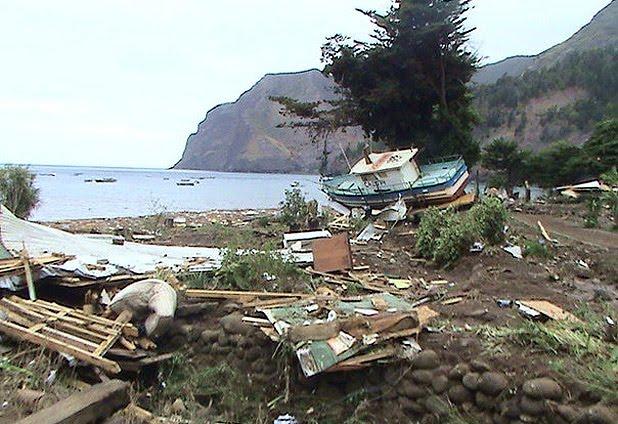 Terremoto y Tsunami en Chile, madrugada del sábado 27/febrero/2010