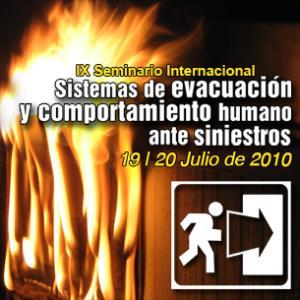 Seminario en sistemas de evacuación y comportamiento humano ante siniestros.