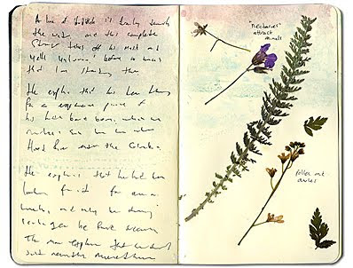 Faire son journal herbier pour l 39 t gycouture design - Faire un herbier ...