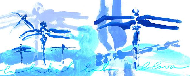 La libèl·lula blava