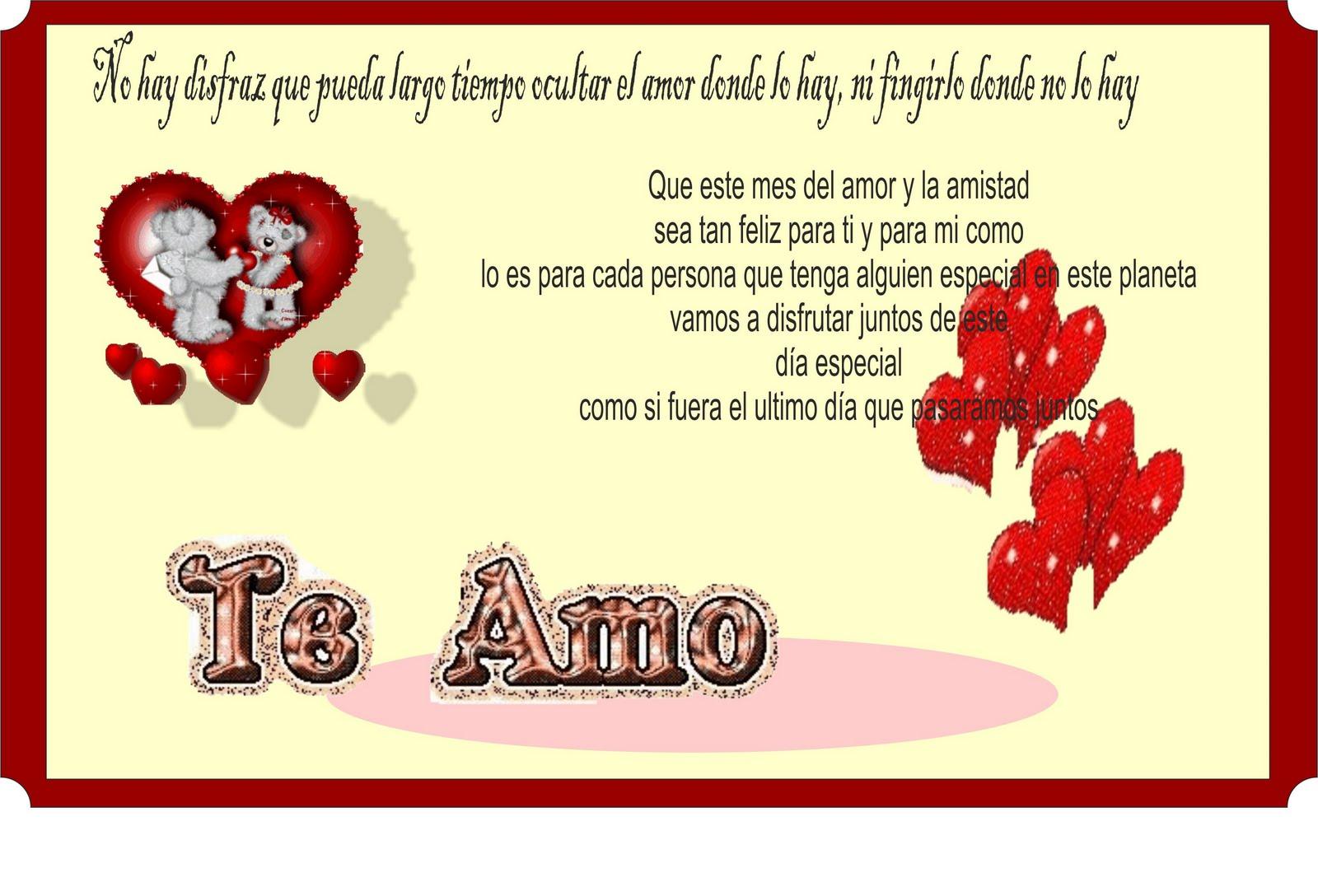 Postales De Amor Y Amistad Postales Amor Jpg