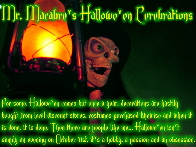 Mr. Macabre&#39;s Hallowe&#39;en Cerebrations