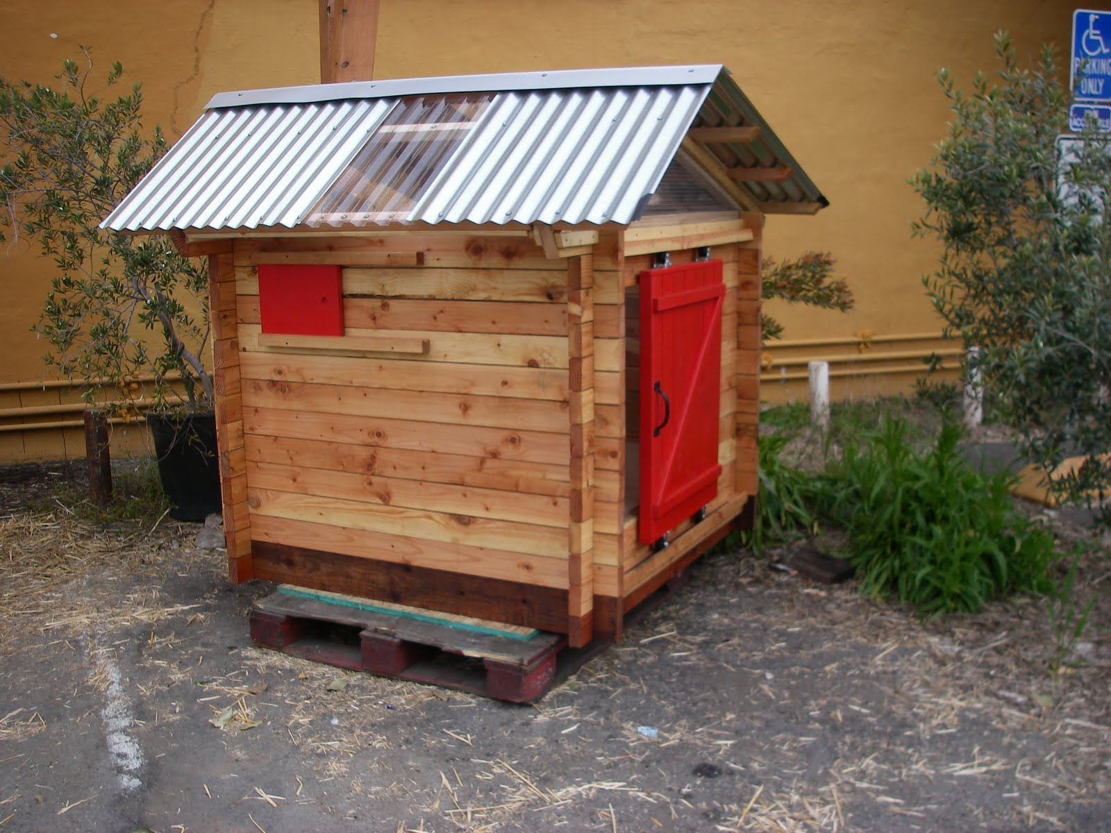 just fine design build modern log cabin chicken coop now