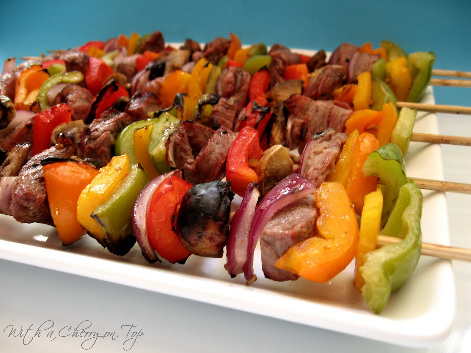 With a Cherry on Top: Classic Beef Kabobs