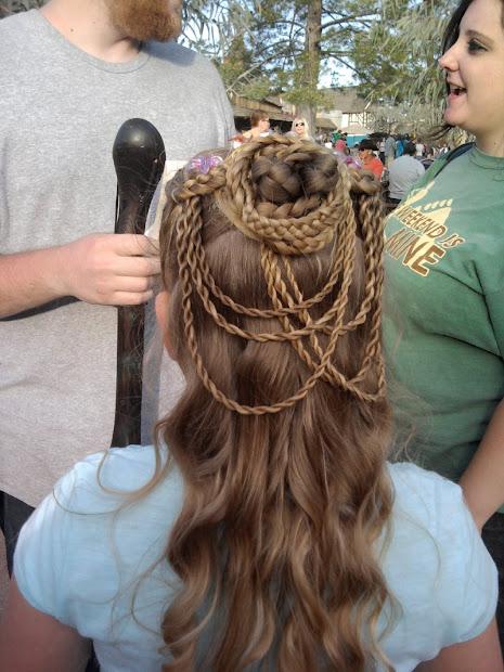 girls curls renaissance festival