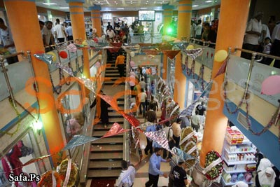 luxury mall opens