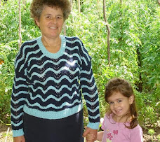 în grădina bunicilor