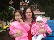Cristina şi fetele, la Stâna de Vale