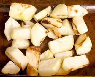 roasted kohlrabi