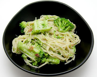 recipe for spaghetti carbonara with broccoli