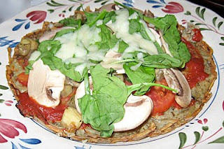Gluten-free shredded potato pizza crust recipe